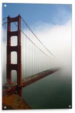Half bridge, Acrylic Print