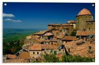 Volterra, Acrylic Print