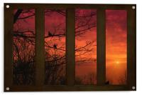 AS THE SUN GOES DOWN, Acrylic Print