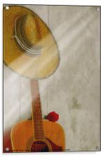 ONE NOTE, Acrylic Print
