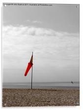 Red Sock, Acrylic Print