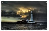 Mary Just After the Storm, Acrylic Print