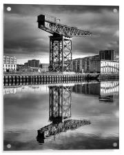 The Crane, Acrylic Print