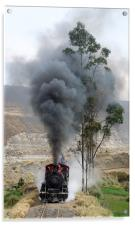 Steam in the Andes, Acrylic Print