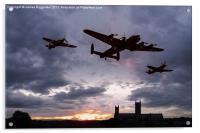 Memorial Sunset, Acrylic Print