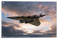 Vulcan Bomber, Acrylic Print
