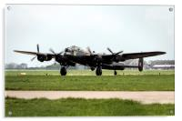 Lancaster Landed, Acrylic Print