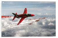 2014 Red Arrows, Acrylic Print