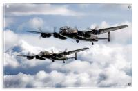 Flying Lancasters, Acrylic Print