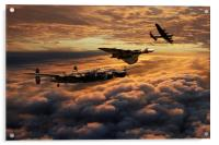 The Bomber Age , Acrylic Print