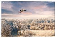 Vulcan Winter , Acrylic Print