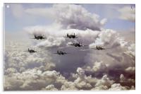 Spitfire Gang, Acrylic Print