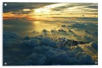 Vulcan Cloudscape, Acrylic Print
