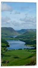Buttermere from Haystacks, Acrylic Print