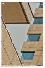 Futuristic architecture, Acrylic Print