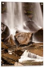 Another welsh waterfall, Acrylic Print