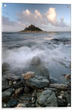 St Michaels Mount, Acrylic Print
