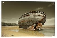 Dulas Bay shipwreck, Acrylic Print