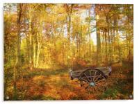 The Woodsmans Glade., Acrylic Print