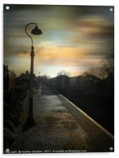 Bitton Railway Station, Somerset., Acrylic Print