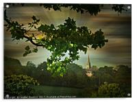 Evening in the Park, Acrylic Print