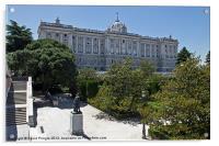 Palacio Real I, Acrylic Print