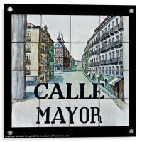 Calle Mayor, Acrylic Print