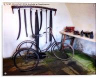 Antique Workshop, Acrylic Print
