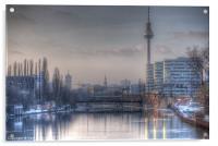 Four towers Berlin, Acrylic Print