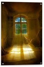 Hospital sun beam, Acrylic Print