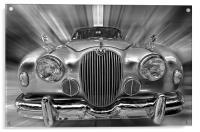 Old Jaguar S, Acrylic Print