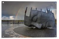 Cardiff war memorial, Acrylic Print