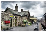 Embsay Station, Acrylic Print