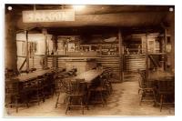 The Saloon Bar., Acrylic Print