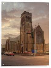 Holy Trinity Church, Acrylic Print