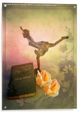 Wings on My Feet, Acrylic Print