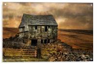 Derelict Cottage, Acrylic Print