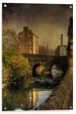 Old Mills, Acrylic Print