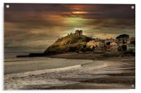 Criccieth Castle, Acrylic Print