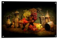 Still life of Fruit., Acrylic Print