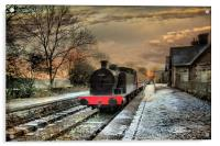 Hawes Station., Acrylic Print
