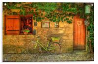 La Bicyclette, Acrylic Print