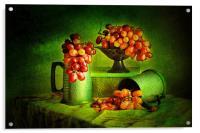 Grapes Grapes Grapes., Acrylic Print