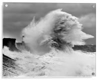 Porthcawl Lighthouse, Acrylic Print