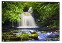 West Burton Waterfall, Acrylic Print