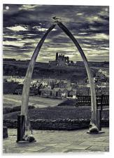 The Whale Jaw Bone Arch, Acrylic Print