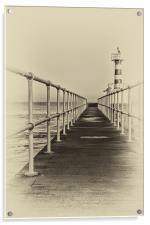Amble Pier, Acrylic Print