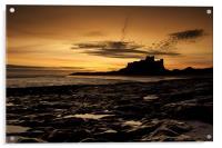 Bamburgh Sunrise, Acrylic Print