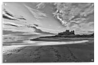 Bamburgh Castle, Acrylic Print