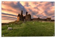 Dunstanburgh Castle, Acrylic Print